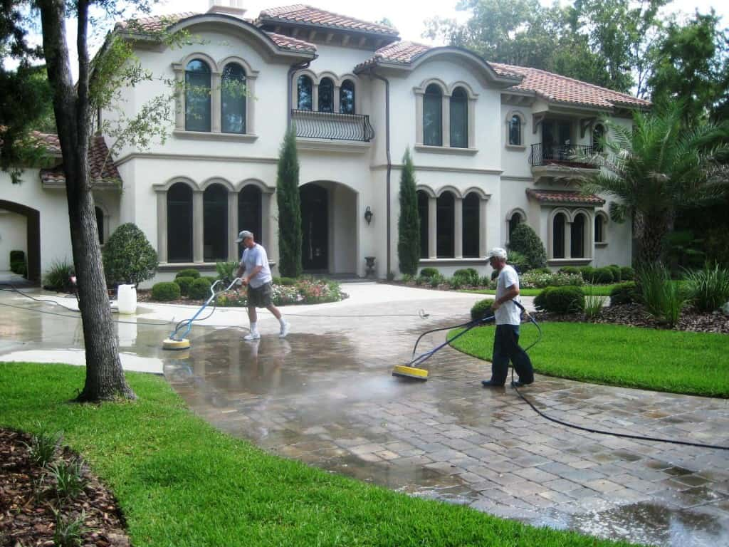 High Pressure Concrete Cleaner Gainesville, FL