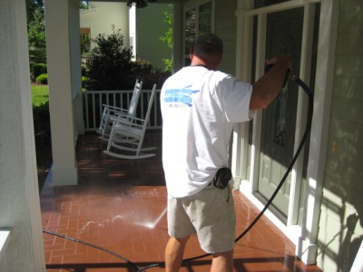 Pressure Washing Porch Gainesville, FL