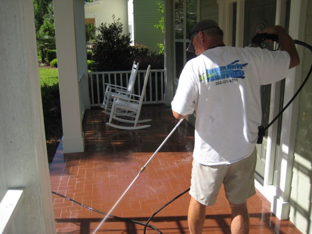 High Pressure Brick Cleaner
