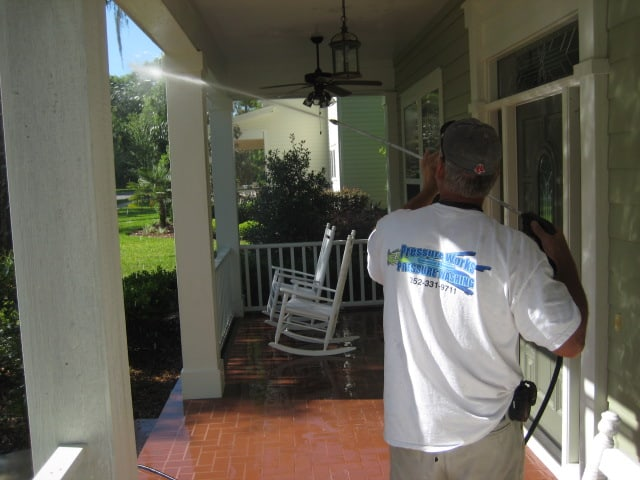 Pressure Cleaning Porch Gainesville, FL