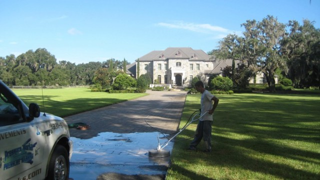 power washing driveway gainesville florida