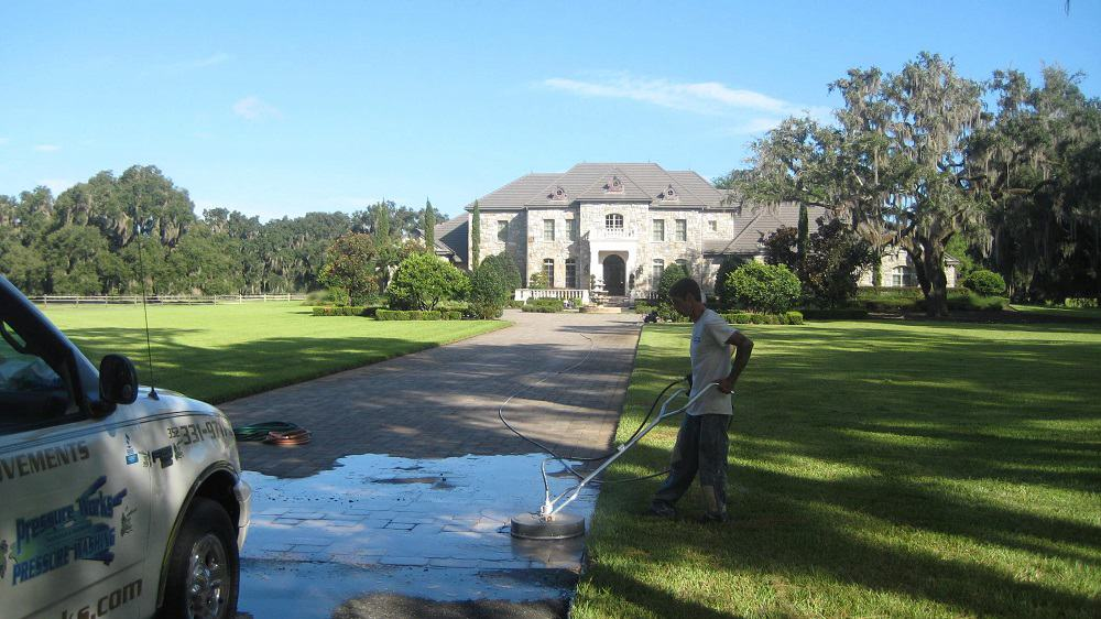 power washing driveway gainesville florida