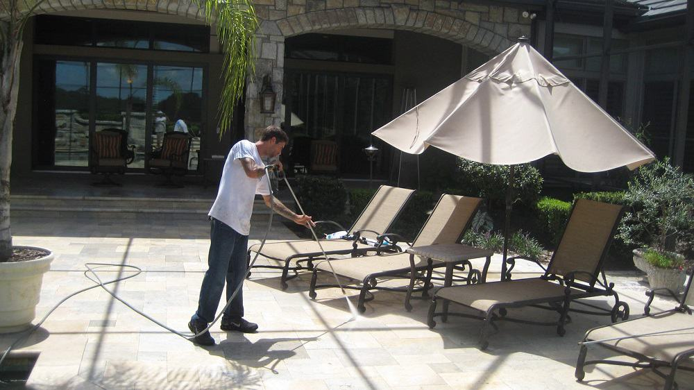 pressure washing patio gainesville florida